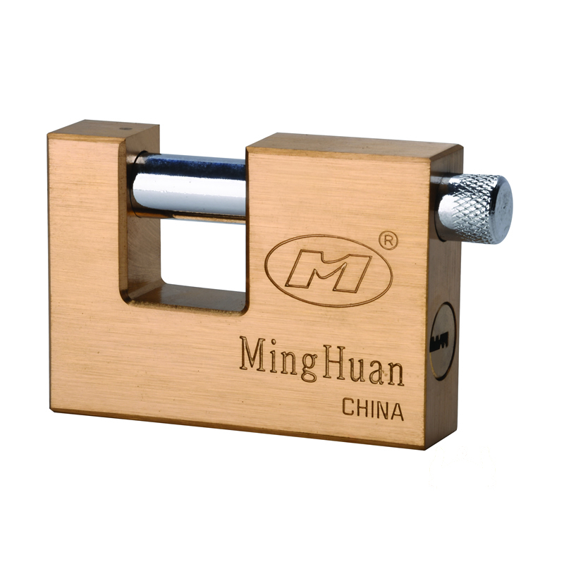 Minghuan Brass Rectangle Padlock