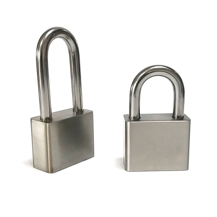 Stainless Steel Padlock Long Shackle