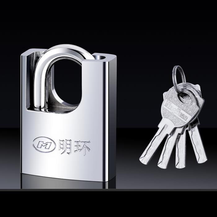 明环半包梁铝锁