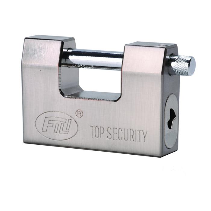 D型防撬钢锁