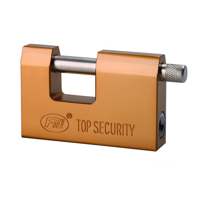 D型镀铜叶片锁