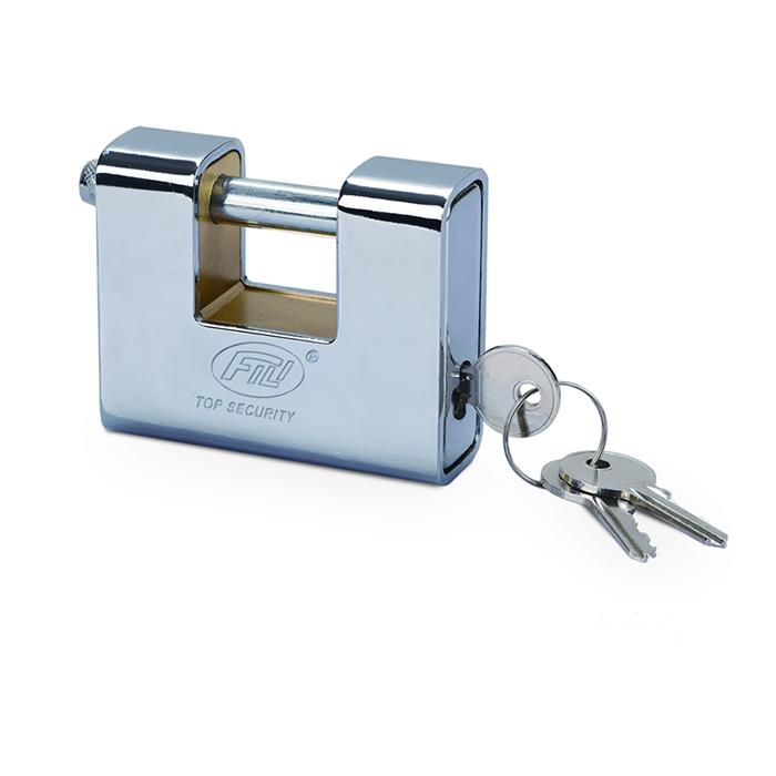 电镀套壳锁