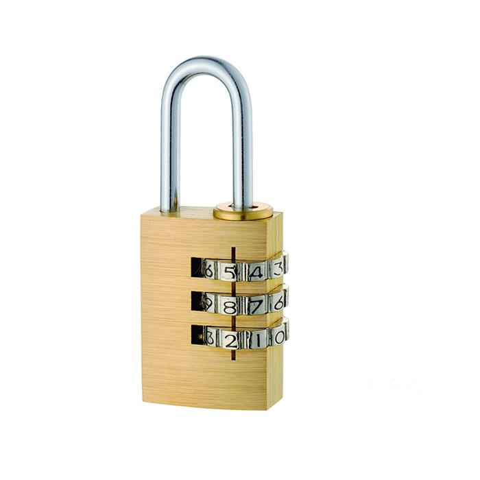 铜密码锁3轮