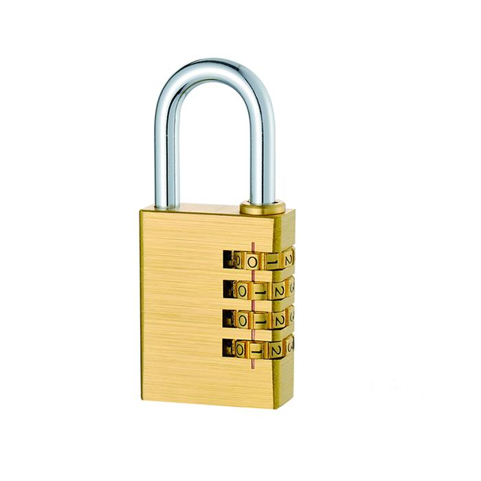 铜密码锁4轮