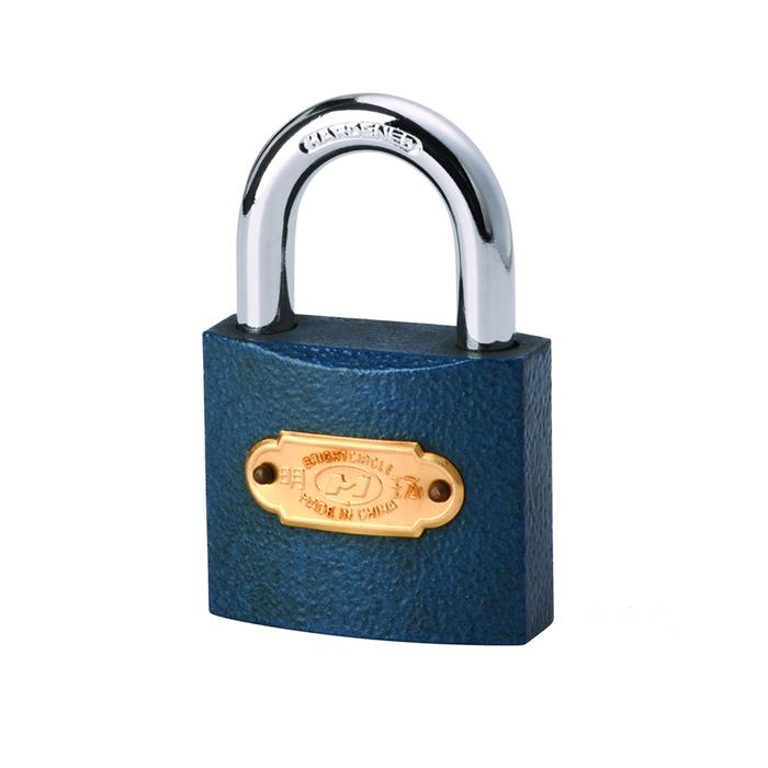 明环喷塑锁