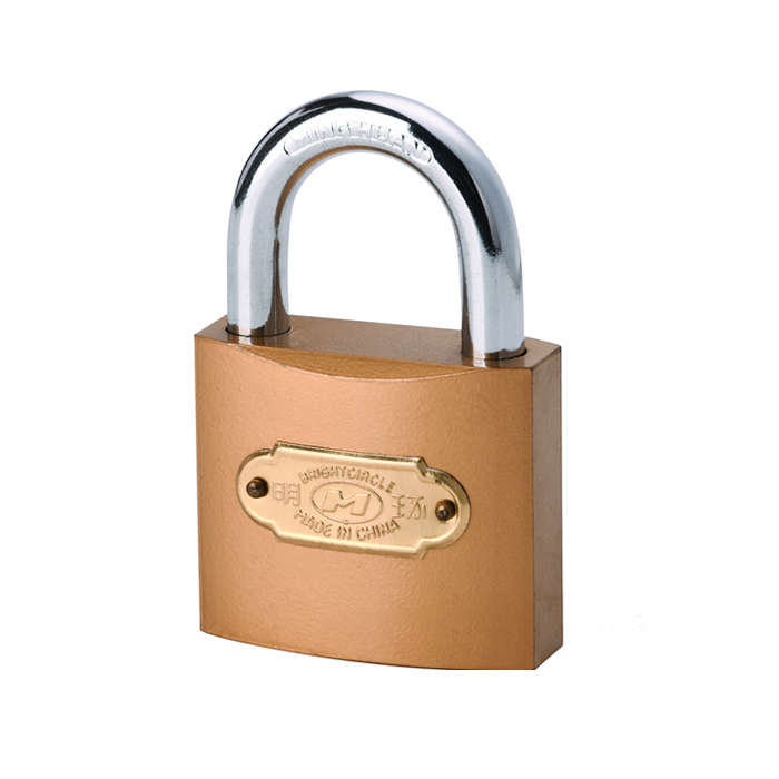明环仿铜锁